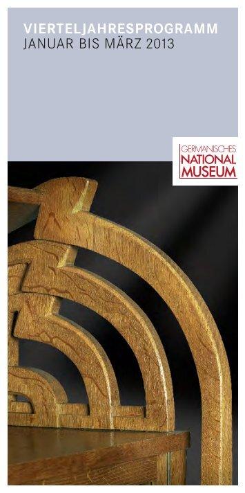 januar - Germanisches Nationalmuseum