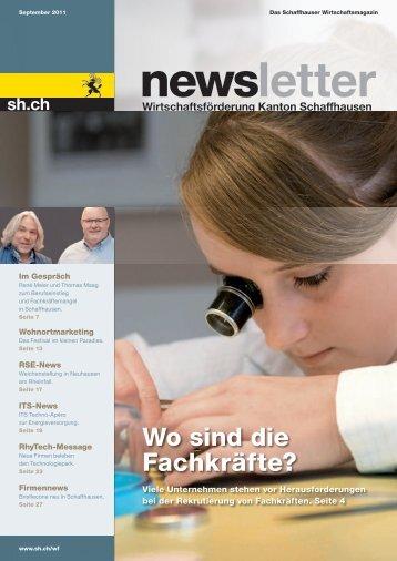 Ausgabe 3 - September 2011 (7.6 MB) - Wirtschaftsförderung ...