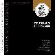 W A F F E N & U N I F O R M E - Zeughaus Kinnemann