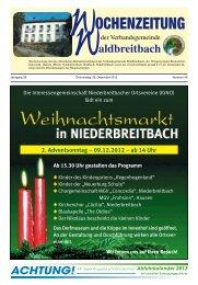 programm Besuch des Christkindchens Alphornbläser Drehorgel ...
