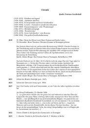 Eine Chronik über Heinrich Theodor Fontane - Neuruppin
