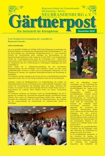 NEUBRANDENBURG e.V. - Regionalverband der Gartenfreunde ...