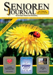 Ausgabe 18 - April / Mai 2010 - Senioren Journal