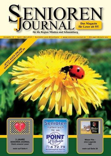 Ausgabe 18 - April / Mai 2010 - Senioren Journal