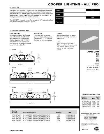 COOPER LIGHTING - ALL PRO® - Cooper Industries  sc 1 st  Yumpu & HALO Track Lighting Stasis Metal Halide - Cooper Industries