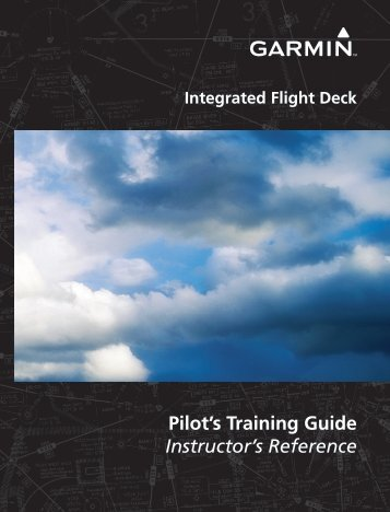Pilot's Training Guide Instructor's Reference - Garmin
