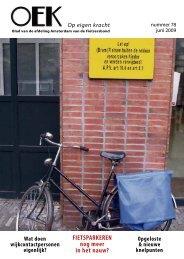 FIETSPARKEREN nog meer in het nauw? - Fietsersbond Amsterdam