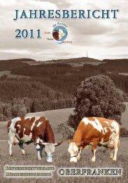 2011 – das Jahr in Zahlen - Rinderzuchtverband Oberfranken e.V.
