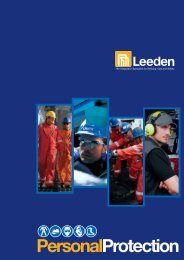 Leeden Safety Catalogue 2010 - Personal Protection - Leeden Limited