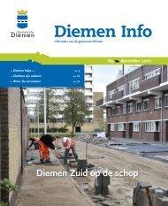 Diemen Info, december 2010 - Gemeente Diemen