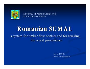 Romanian SUMAL - MADR