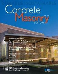 July 2009 - National Concrete Masonry Association