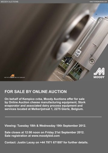Kempico cvba Online Auction Sale Catalogue - Moody Auctions