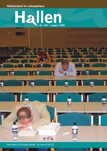 Medlemsblad for halinspektører - Halinspektørforeningen
