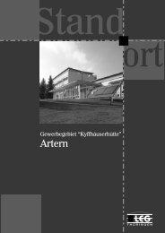 Artern - Landesentwicklungsgesellschaft Thüringen mbH