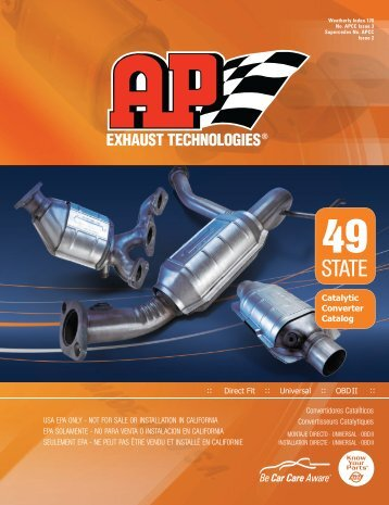 catalytic converters - AP Exhaust Technologies