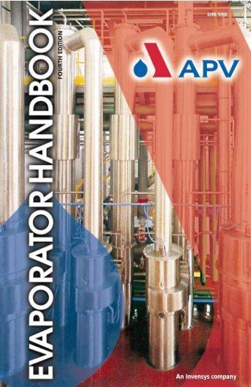 APV Evaporator Hndbook - Umbc