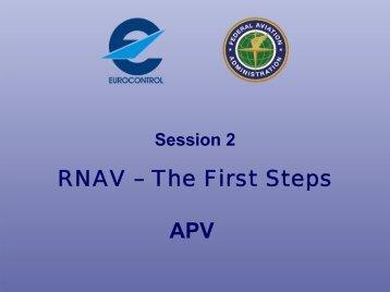 RNAV – The First Steps APV - EUROCONTROL Navigation