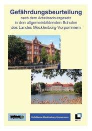 Gefährdungsbeurteilung Schule - Bildungsserver Mecklenburg ...