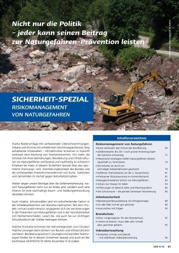 SICHERHEIT-SPEZIAL - fachpresse.com