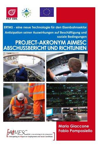 PROJECT-AKRONYM AIMESC - Filt Cgil