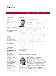Newsletter - Baker & McKenzie