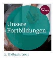 Fortbildungsprogramm 2011 - Kreiskrankenhaus Rinteln