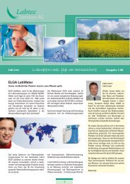 ELGA LabWater - Labtec Services AG