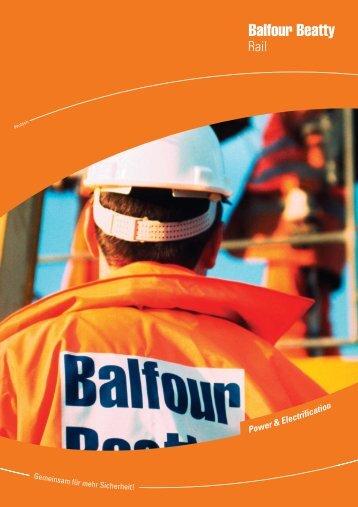 Broschüre - Balfour Beatty GmbH