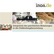 Integration der psychischen Belastungen in die ... - Arbeitsinspektion