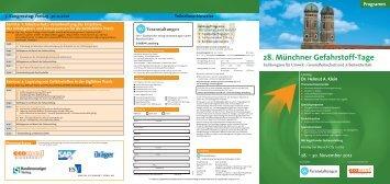 Programm (PDF) - Ihr kompetenter Veranstalter für Kongresse ...