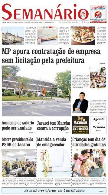 182b624d9dba MP apura contratação de empresa sem licitação pela prefeitura