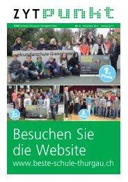 Druckerei Steckborn - VTGS Verband Thurgauer Schulgemeinden