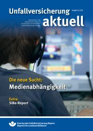 Unfallversicherung aktuell 4/2012 - Kommunale Unfallversicherung ...