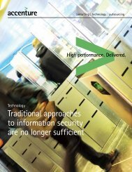 Traditional approaches to information security are no longer sufficient
