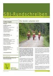 SBJ-Rundschreiben 01/2011 - Südtiroler Bauernjugend