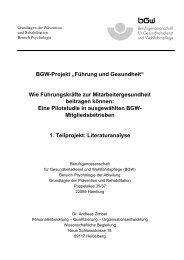 BGW-Projekt