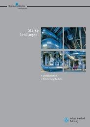 Prospekt (PDF): Energietechnik - BIS Industrietechnik Salzburg GmbH