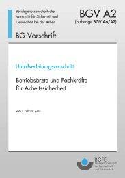 Titel BGV A2.indd - Brass-VDI