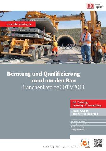 PDF herunterladen : Qualifizierung & Beratung rund - DB Training