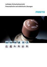 Leitfaden Sicherheitstechnik Pneumatische und elektrische ... - Festo