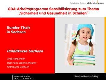 Unfallkasse Sachsen - Schulleitungen