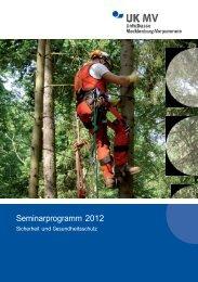Seminarprogramm 2012 - Unfallkasse Mecklenburg-Vorpommern