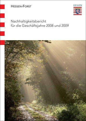 Nachhaltigkeitsbericht - Landesbetrieb Hessen-Forst