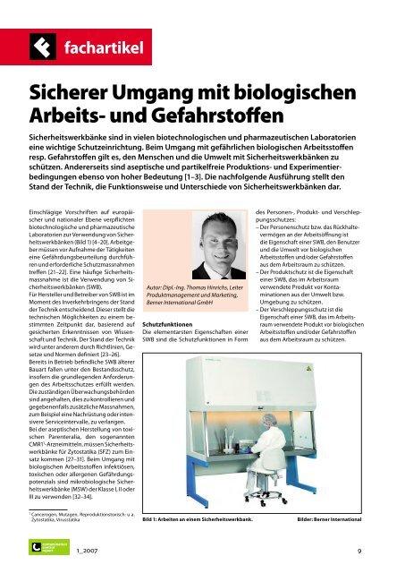 fachartikel - BERNER International GmbH
