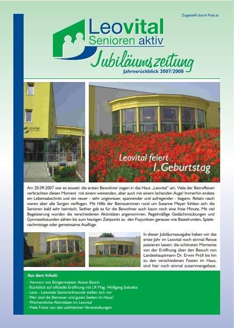 Senioren kennenlernen aus leobersdorf. Reiterndorf