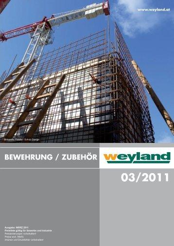 bewehrung / zubehör 03/2011