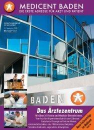 Klicken Sie hier, um das aktuelle Medicent Journal - Medicent Baden