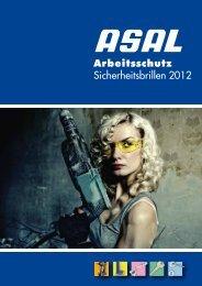 arbeitsschutz sicherheitsbrillen 2012-prospekt - Asal