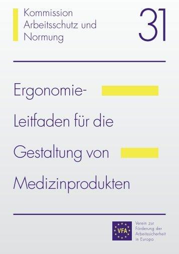 Ergonomie- Leitfaden für die Gestaltung von ... - ErgonAssist